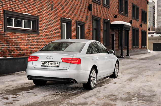 Длительный тест гибридного седана Audi A6: часть первая. Фото 8