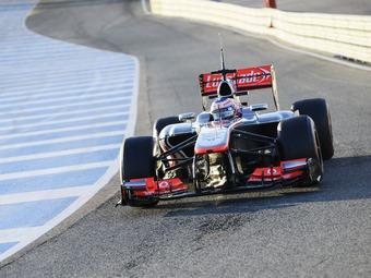 Участники Формулы-1 завершили первый день предсезонных тестов