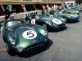 Aston Martin отметит юбилей гонкой раритетных автомобилей