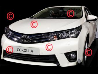 Фотографии новой Toyota Corolla попали в Сеть