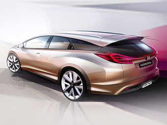 Honda Civic станет универсалом через месяц