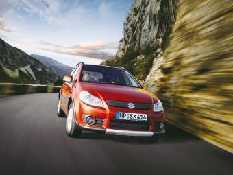 Suzuki проведет фейслифтинг модели SX4