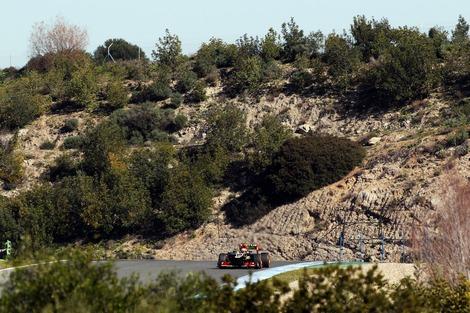 Пилот команды Lotus на шесть десятых секунды превзошел вчерашний результат Дженсона Баттона