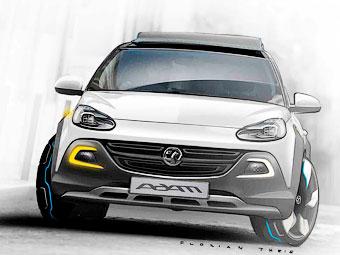 """Opel сделает компакт-кар Adam """"вседорожным"""""""