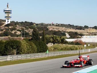 Фелипе Масса стал быстрейшим в третий день тестов Формулы-1