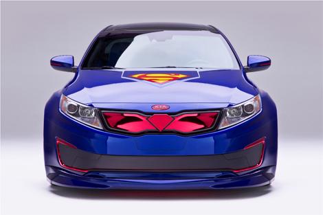 Модель стала предпоследней в серии машин для супергероев. Фото 1