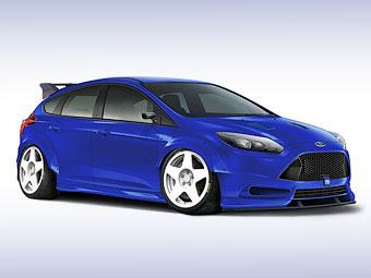 """Ford и Кен Блок создали 500-сильный """"Фокус"""""""