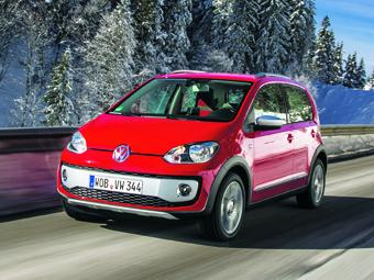 """Volkswagen сделал компакт-кар up! """"вседорожным"""""""