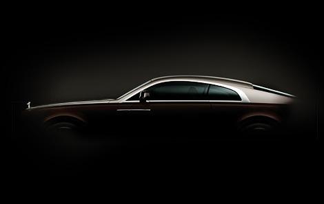 Компания опубликовала изображение задней части купе Wraith
