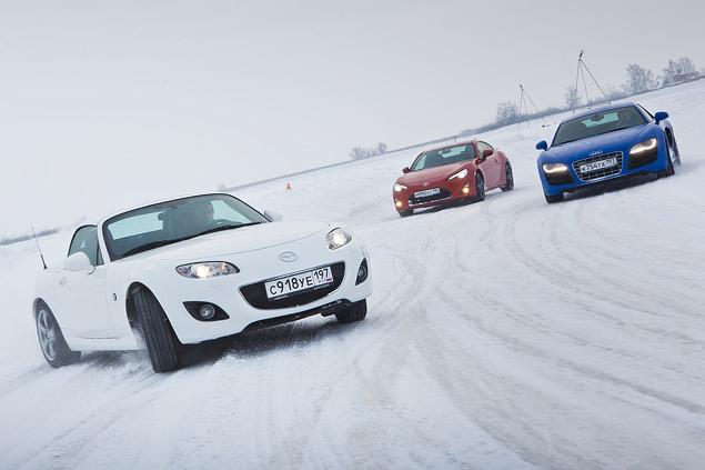 Выбираем самую веселую машину для безбашенной зимней езды. Фото 10