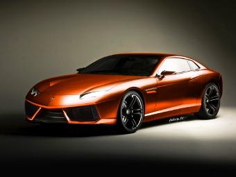 Lamborghini привезет в Женеву переднемоторное спорткупе