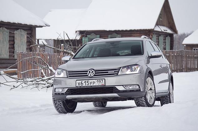 Длительный тест вседорожного универсала VW Passat Alltrack. Фото 2