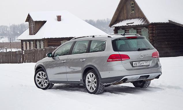 Длительный тест вседорожного универсала VW Passat Alltrack. Фото 4