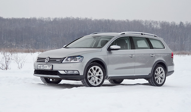 Длительный тест вседорожного универсала VW Passat Alltrack. Фото 5