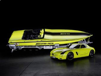 Mercedes-Benz построил самый быстрый в мире электрокатер