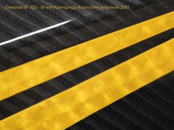 Koenigsegg привезет в Женеву юбилейный гиперкар