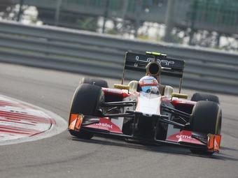 Шинная компания Pirelli купила болид команды HRT 2011 года