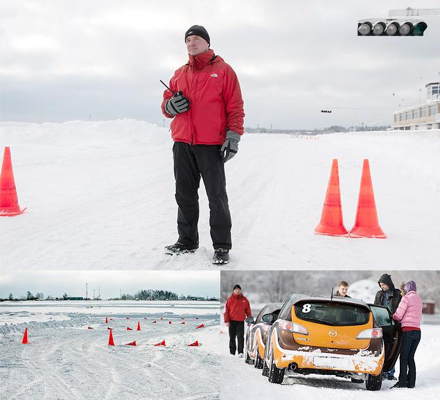 Спортакадемия Mazda и другие школы зимнего вождения. Фото 1