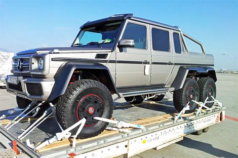 Модель получила 544-сильный турбомотор V8 от G 63 AMG