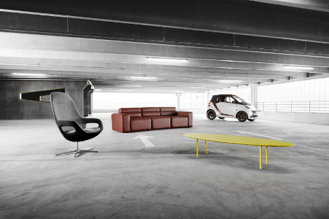 Компании также создали коллекцию домашней мебели и аксессуаров