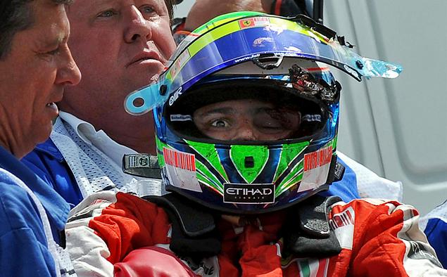 Как изменились шлемы пилотов Формулы-1 за последние 20 лет. Фото 11