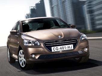 Начало российских продаж Peugeot 301 отложили на три месяца
