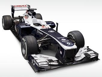 Болид Williams Формулы-1 обновили на 80 процентов