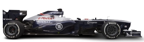 Для сезона-2013 британская команда разработала новое днище и коробку передач