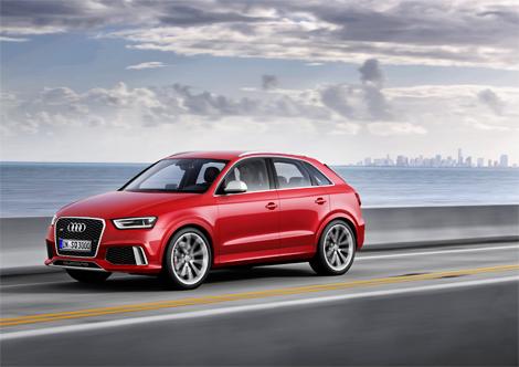 Официальная премьера Audi RS Q3 состоится в Женеве