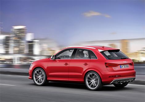 Официальная премьера Audi RS Q3 состоится в Женеве. Фото 1