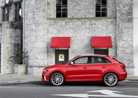 Официальная премьера Audi RS Q3 состоится в Женеве. Фото 2