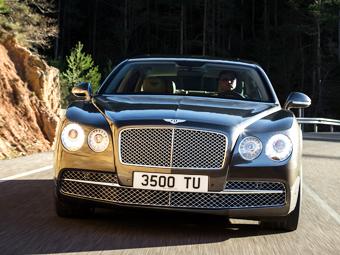 Компания Bentley рассекретила самый мощный седан в своей истории