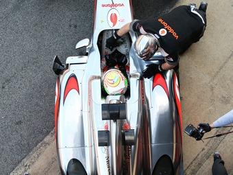 Серхио Перес на McLaren стал быстрейшим на тестах Формулы-1