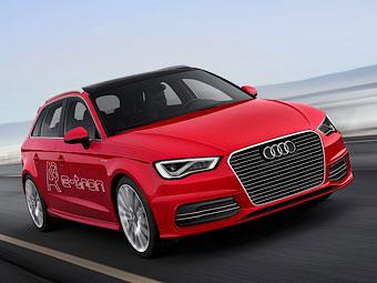 Хэтчбек Audi A3 стал подключаемым гибридом