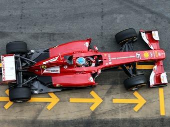 Алонсо превзошел Хюлькенберга на тестах Формулы-1 в Барселоне