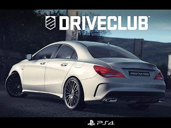 AMG-вариант седана Mercedes-Benz CLA показали в видеоигре