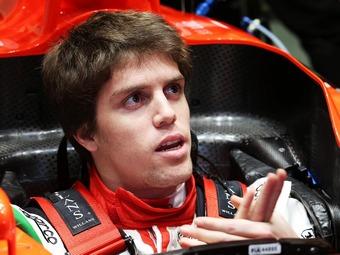 Луиса Рацию отстранили от тестов болида Marussia