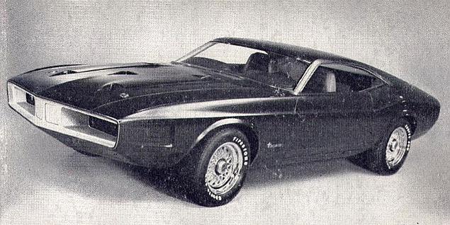 Лучшие американские концепт-кары семидесятых. Фото 5