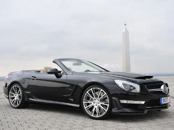 """""""Брабус"""" сделал родстер Mercedes-Benz SL 65 AMG 800-сильным"""