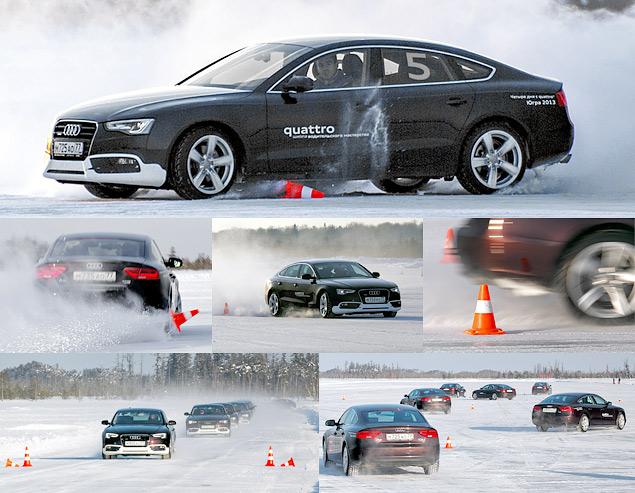 Школа Audi quattro: почему езда боком круче, чем отпуск в Куршевеле?
