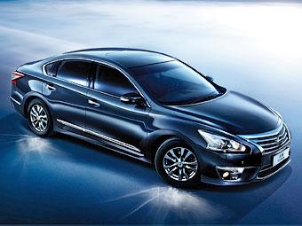 Китайцы первыми увидели новый седан Nissan Teana