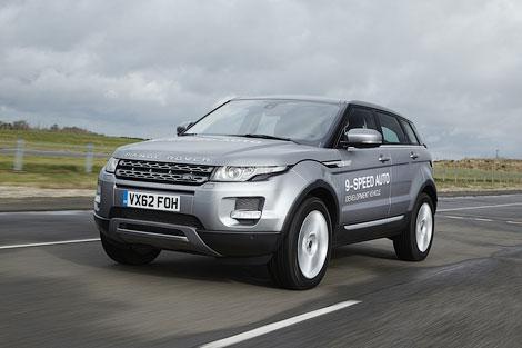 Одной из первых моделей с новой КПП станет Range Rover Evoque. Фото 1