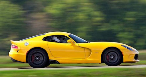 Суперкар SRT Viper получил опциональный спорт-пакет Track Pack