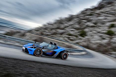 Австрийский производитель подготовил для Женевы версию GT. Фото 1