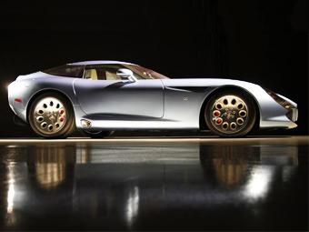 """Последнее купе Alfa Romeo Zagato на базе """"Вайпера"""" привезут в США"""