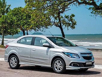 У Chevrolet появился еще один бюджетный седан