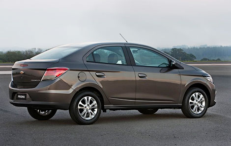 В Бразилии дебютировала компактная модель Chevrolet Prisma