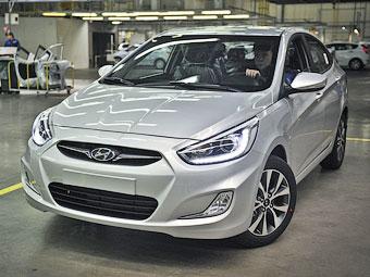 Hyundai Solaris обновился