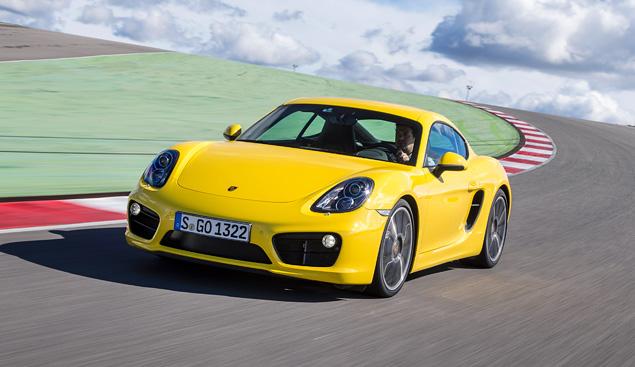 Тест-драйв маленького, но очень злого купе Porsche Cayman. Фото 8