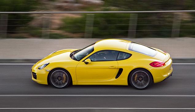 Тест-драйв маленького, но очень злого купе Porsche Cayman. Фото 9